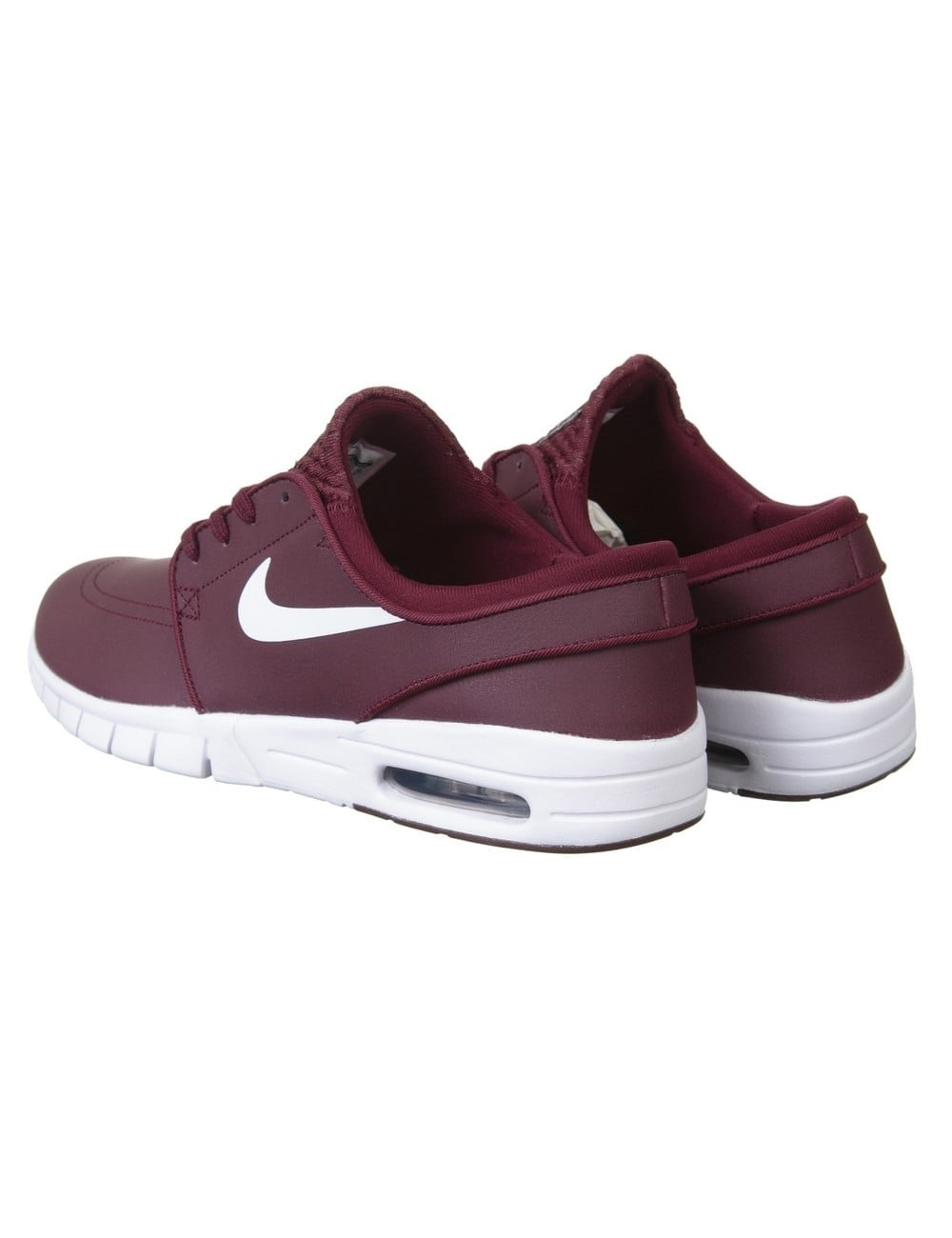 Nike SB Stefan Janoski Max Shoes - Night Maroon White - Footwear ... 01039a231