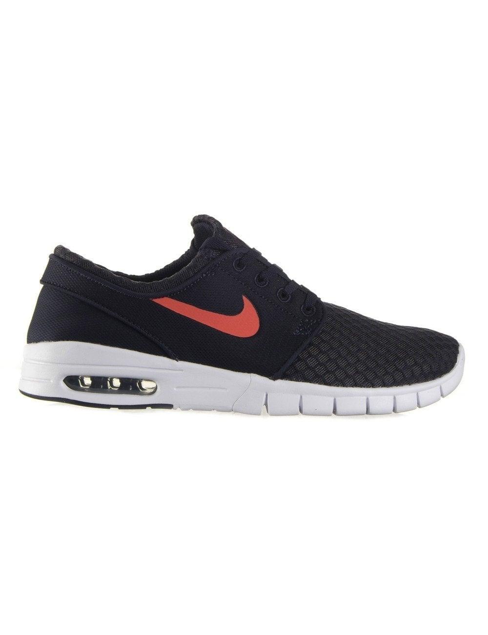 43ab6c415764 Nike SB Stefan Janoski Max Shoes - Obsidian Hot Lava - Footwear from ...