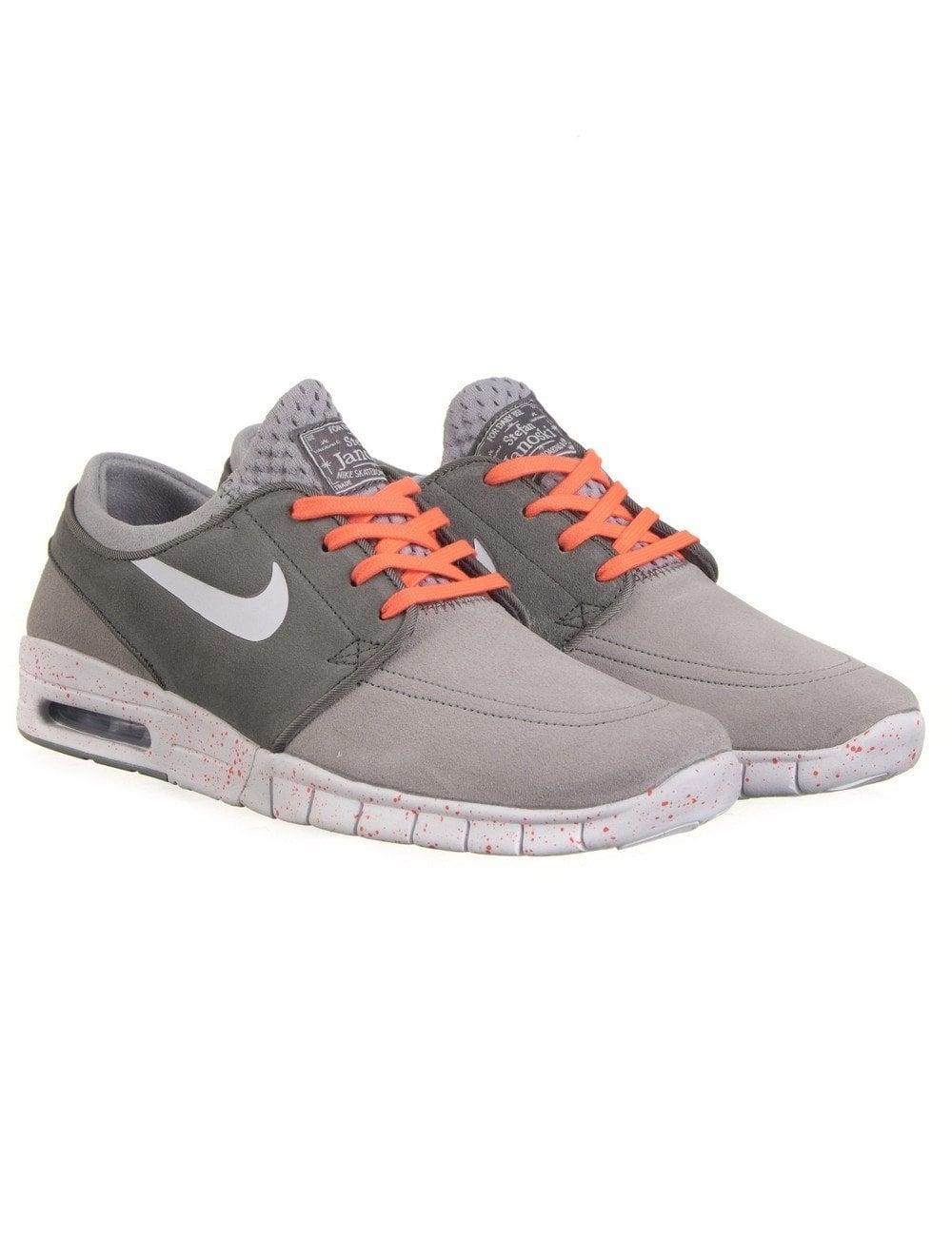 size 40 f9f3b 24e0a Nike SB Stefan Janoski Max Shoes - Wolf Grey (Suede)