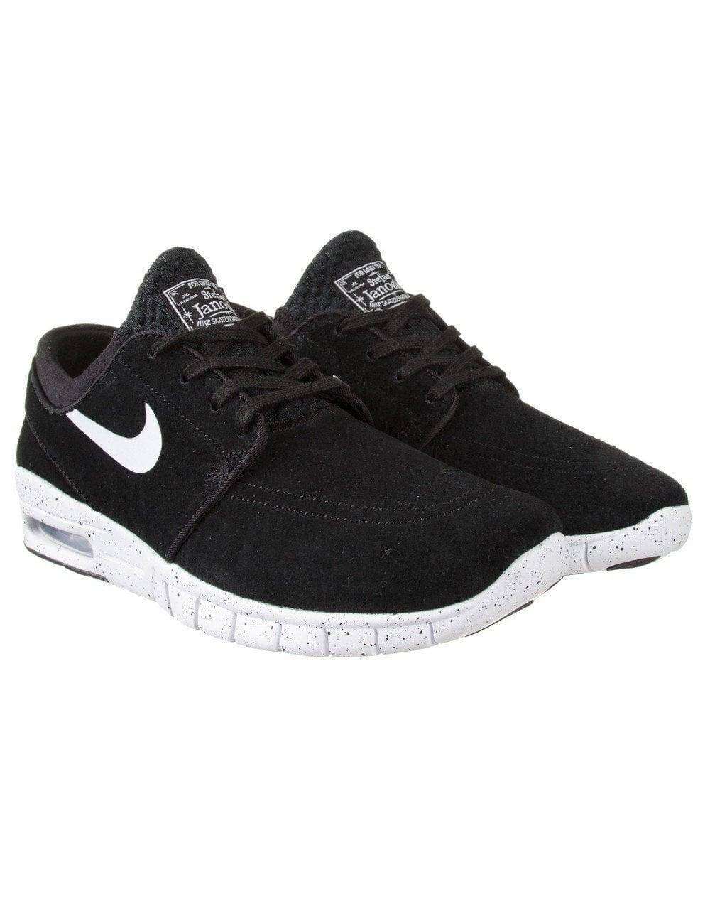 1ee226b499e8 Nike SB Stefan Janoski Max Suede - Black - Footwear from Fat Buddha ...