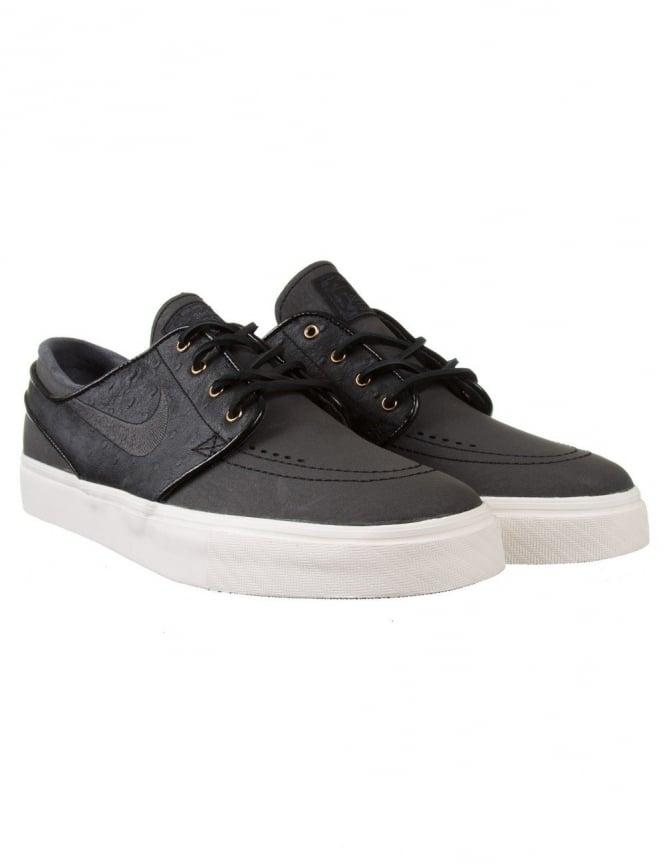 12ea8be0b9ab0 Nike SB Stefan Janoski Premium Shoe - Black Anthracite - Footwear ...