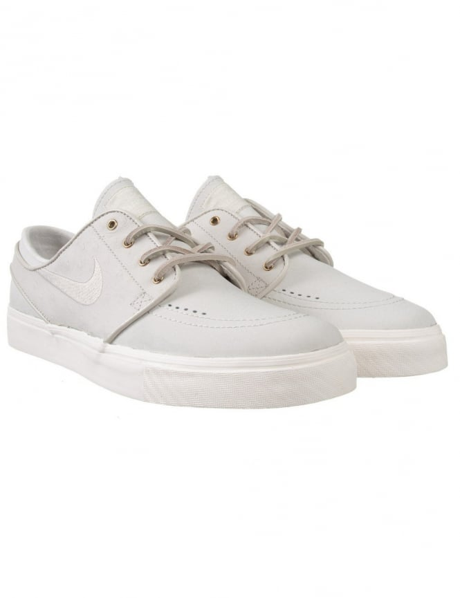 Nike SB Stefan Janoski Premium Shoe - Light Bone
