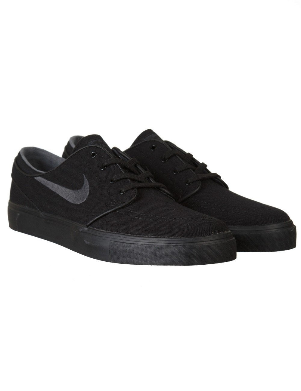 a8829095017 Nike SB Stefan Janoski Shoes - Black Anthracite (Canvas) - Footwear ...