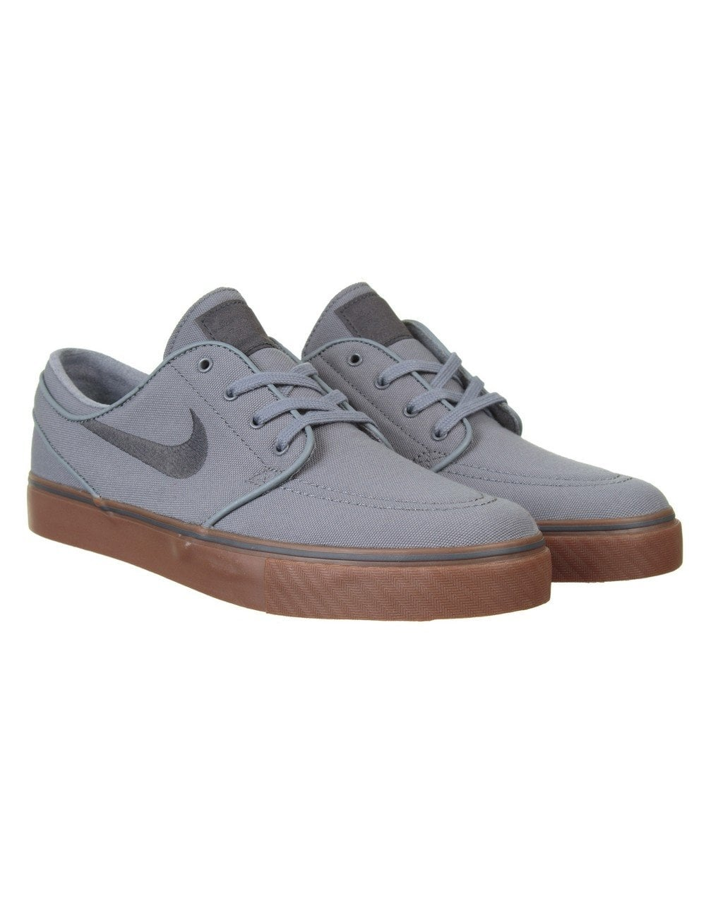 Nike SB Stefan Janoski Shoes - Cool Grey Gum Sole - Footwear from ... cf9a2bfd8116