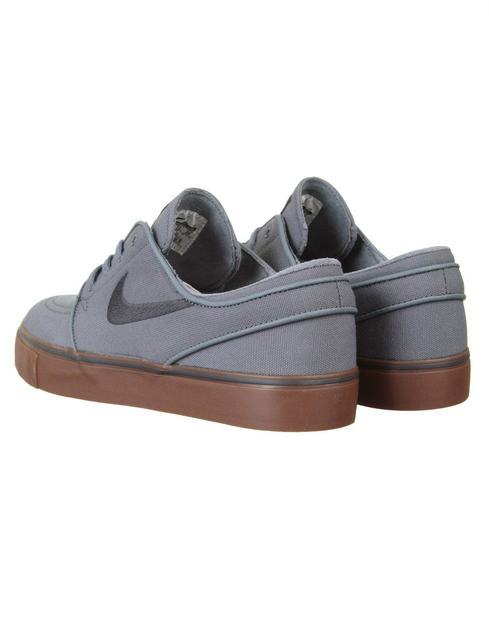 Stefan Janoski Shoes - Cool Grey/Gum Sole
