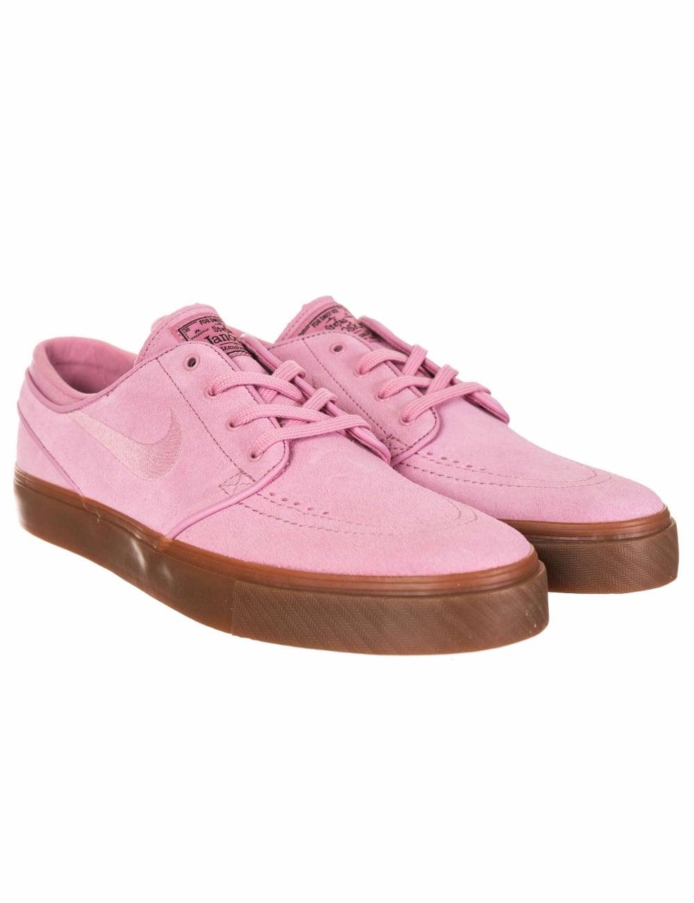 cf45b7f14a59 Nike SB Stefan Janoski Trainers - Elemental Pink - Footwear from Fat ...