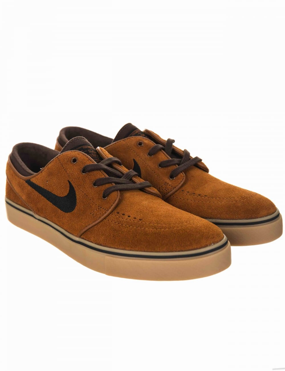 2cdf9cc4c6df30 Nike SB Stefan Janoski Shoes - Hazlenut Black - Trainers from Fat ...
