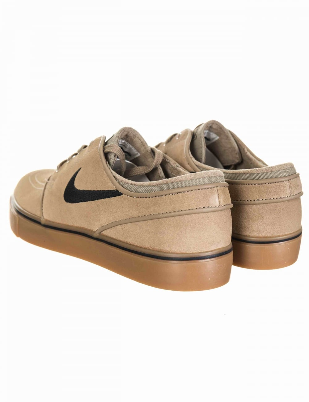 a8ecc388bf2aa5 Nike SB Stefan Janoski Shoes - Khaki Black - Footwear from Fat ...