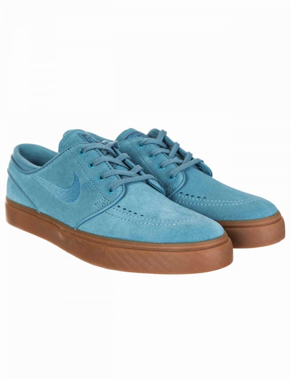 300cb135523a Nike SB Stefan Janoski Trainers - Noise Aqua Noise Aqua - Footwear ...