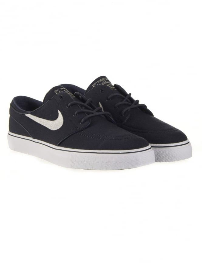 Nike SB Stefan Janoski Shoes - Obsidian (Canvas)
