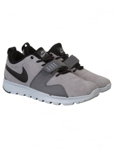 Nike SB Trainerendor Shoes - Cool Grey/Dark Grey