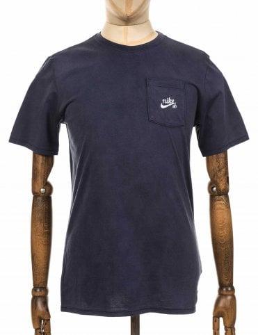 8ef16bb38 Washed Pocket Tee - Obsidian (Lance Mountain Pack) Sale. Nike SB ...