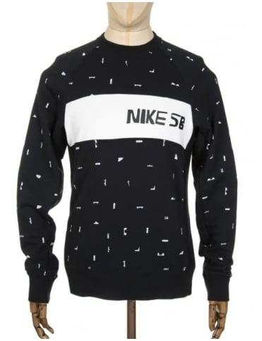Nike SB x CH Everett Sweatshirt - Black/Black