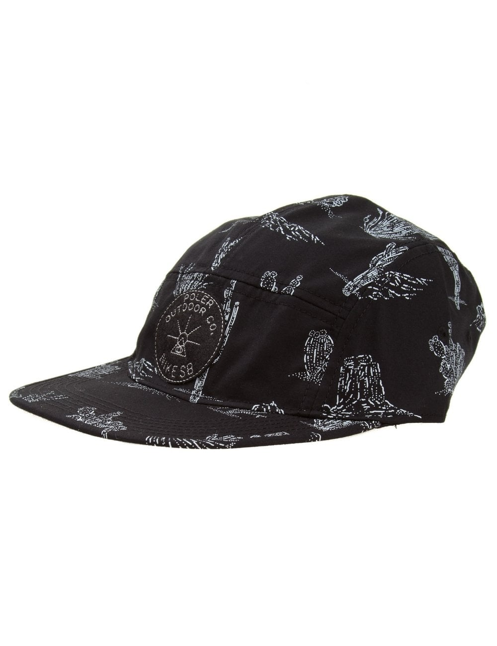 616fa167dacaf Nike SB X Poler 5 Panel Hat - Black - Accessories from Fat Buddha ...