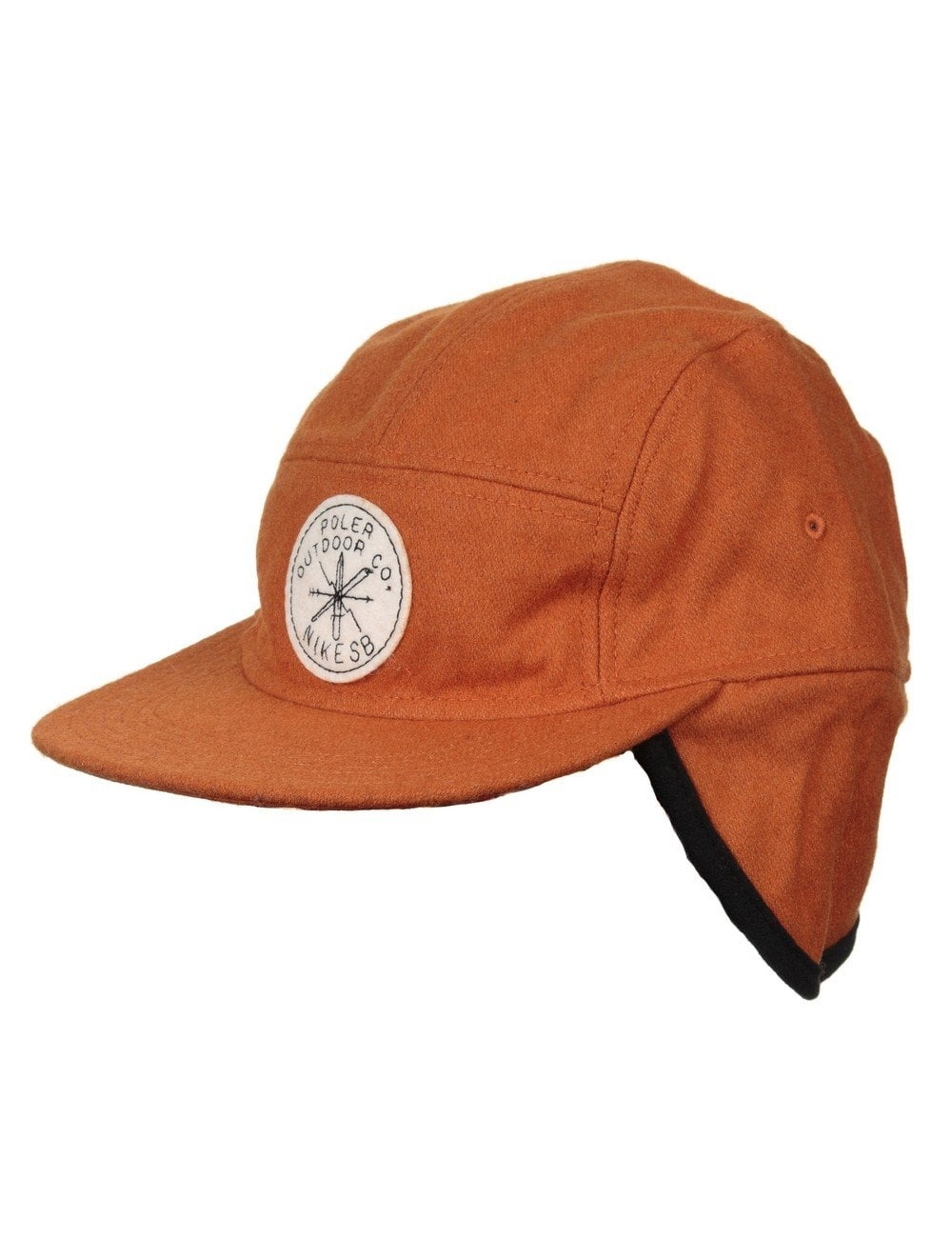 bbea45cd890c9 Nike SB x Poler 5 Panel Winter Hat - Orange - Accessories from Fat ...