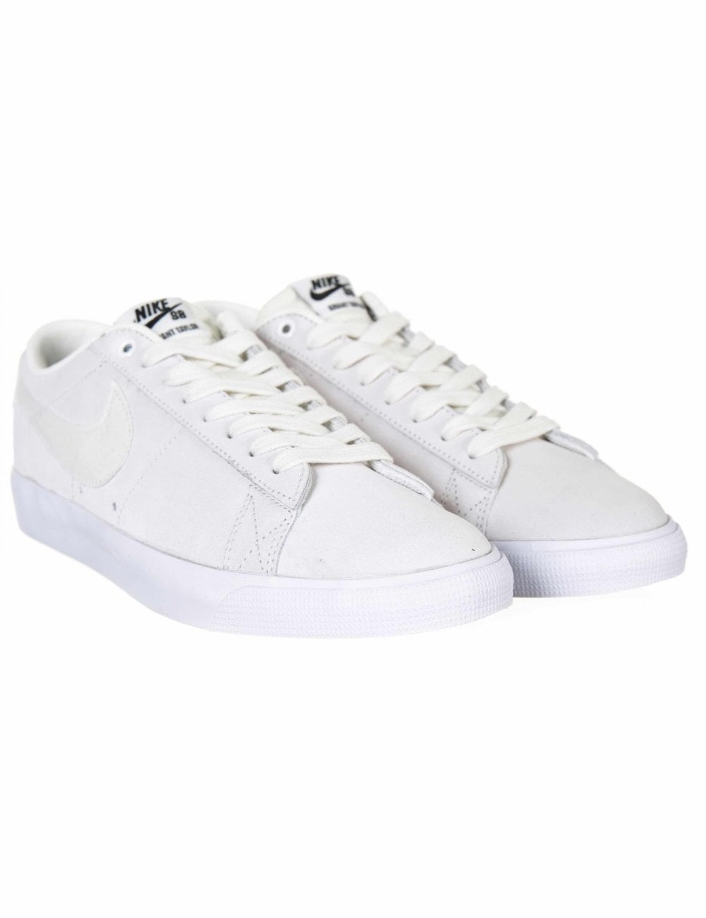 ef602d387c59 Nike SB Zoom Blazer Low GT Shoes - Summit White - Footwear from Fat ...