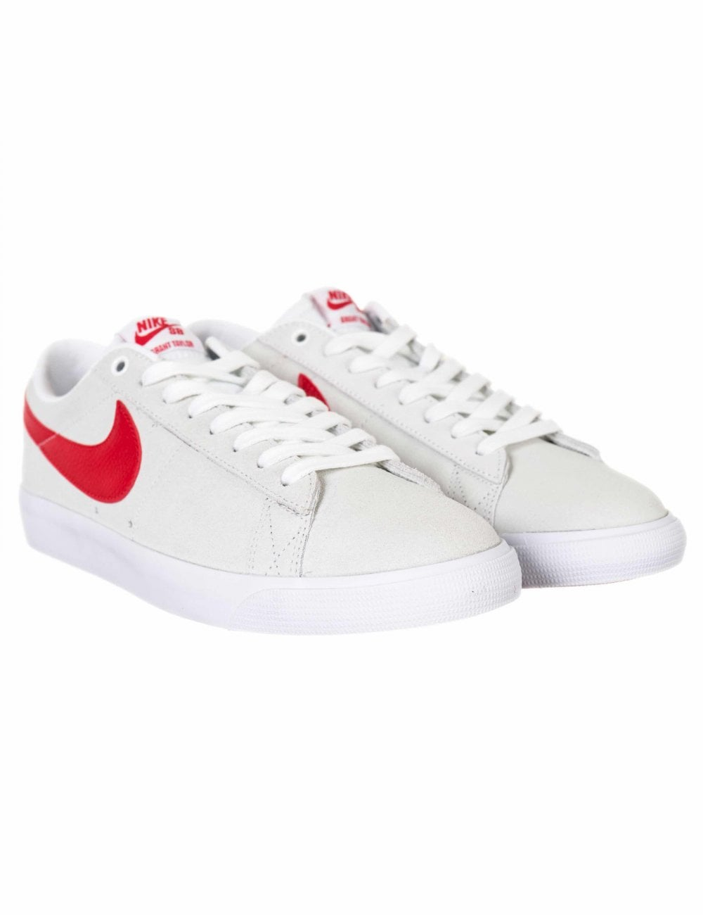 reputable site a1920 f3c11 Zoom Blazer Low GT Shoes - White/University Red