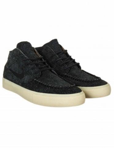 cf1129b661 Nike SB Zoom Janoski Mid RM Crafted Trainers - Black Black