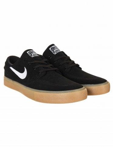 84951fe496 Nike SB Zoom Janoski RM Trainers - Black/Gum