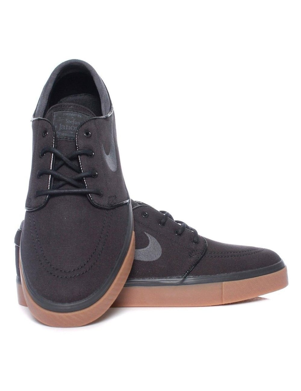 b8bed4a686a4d1 Nike SB Stefan Janoski Trainers - Black Anthracite - Footwear from ...