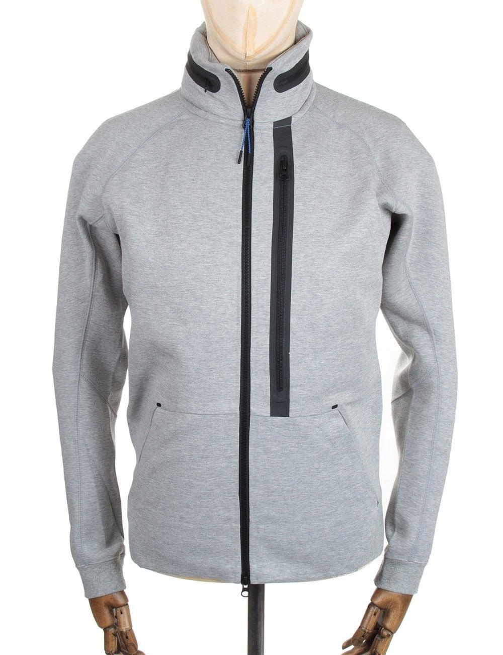 ed61e9d8876 Nike Tech Fleece AW77 FZ Hoody - Grey - Clothing from Fat Buddha ...