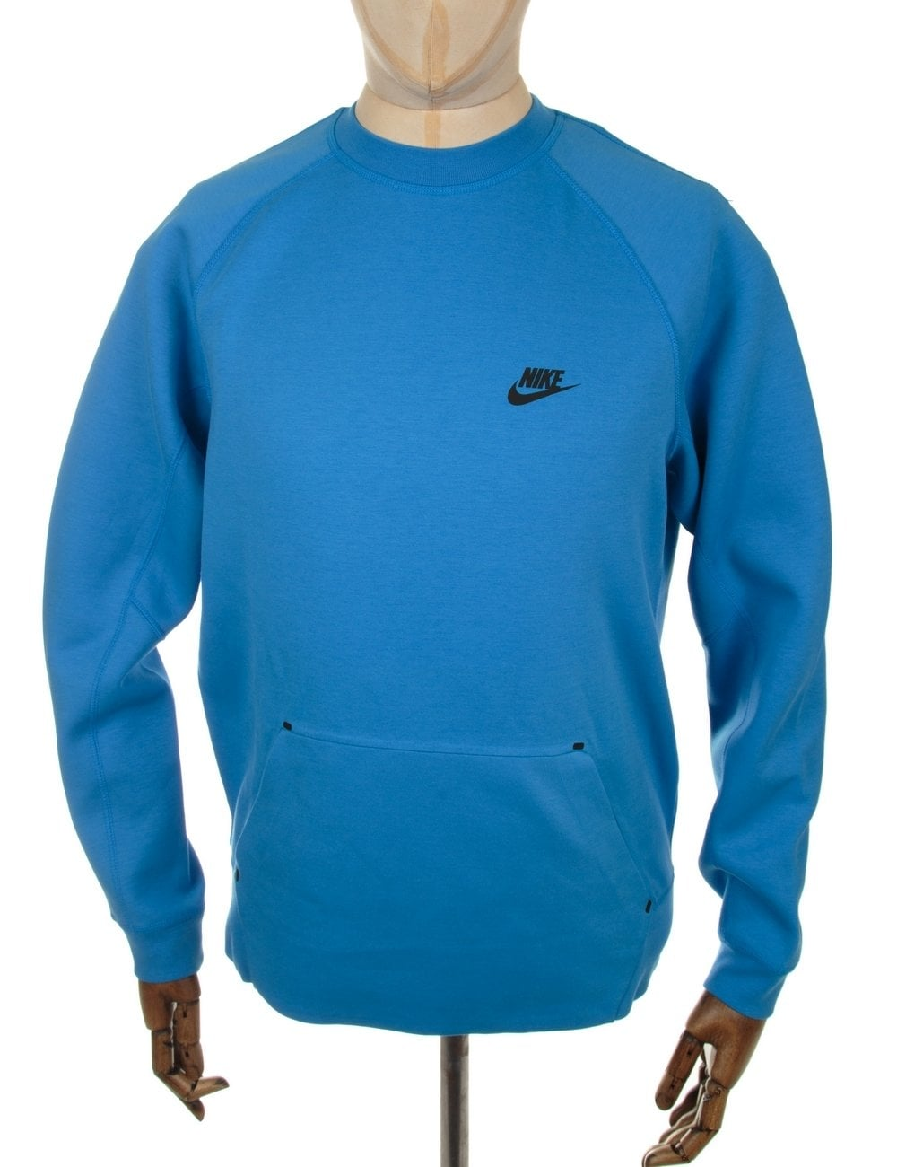 73dc4f053 Nike Tech Fleece Crewneck Sweatshirt - Rift Blue - Clothing from Fat ...