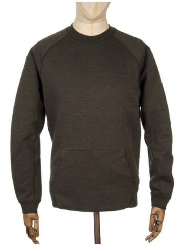 Tech Fleece Sweatshirt - Cargo Khaki