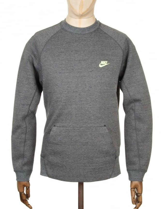 Nike Tech Fleece Sweatshirt - Tumbled Grey