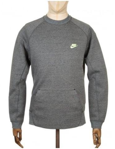 Nike Tech Fleece Sweatshirt - Tumbled Grey