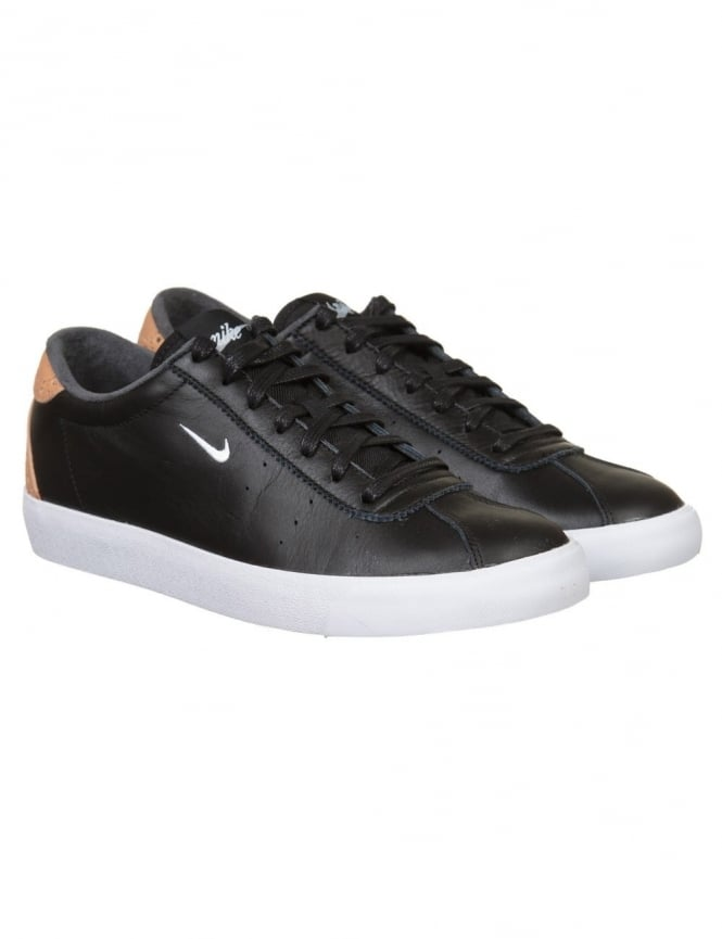 Nike Tennis Match Classic Shoes - Black/White