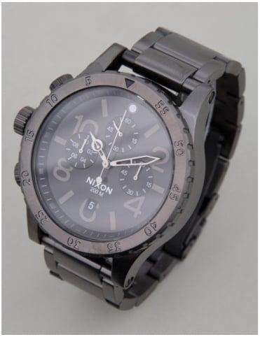 Nixon 48-20 Chrono Watch - All Gunmetal