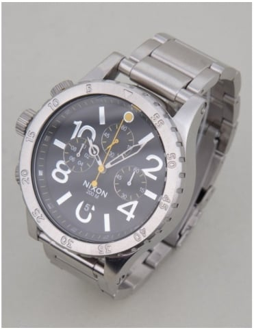 48-20 Chrono Watch - Black
