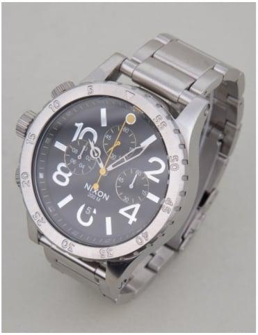 Nixon 48-20 Chrono Watch- Black