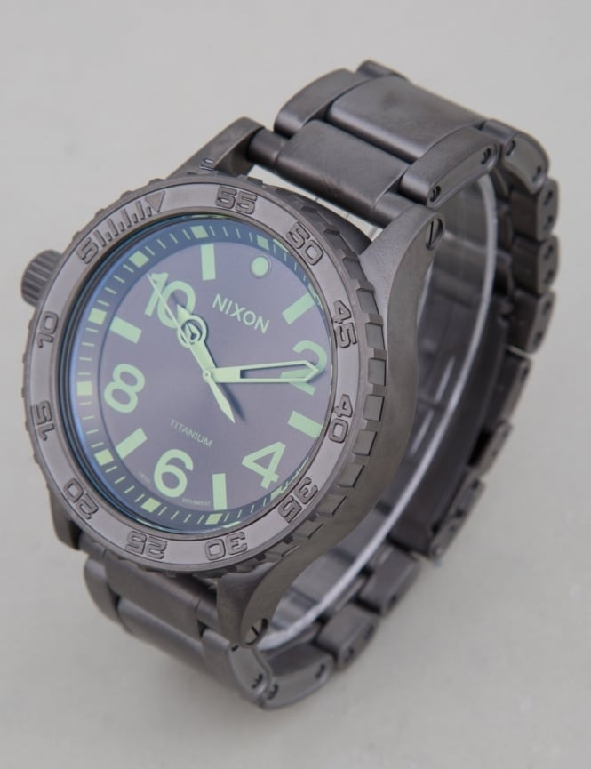 Nixon 51-30 Ti Tide Watch - Gunmetal