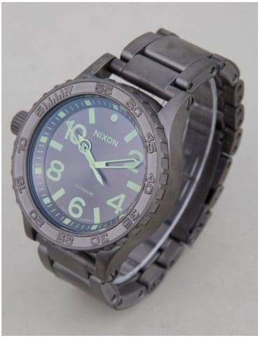 Nixon 51-30 Ti Tide Watch - Gunmetal