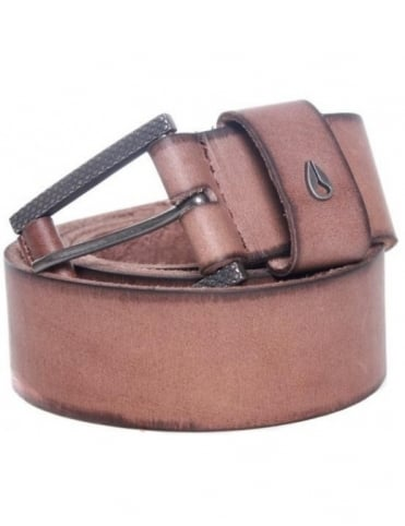 Nixon Americana Belt - Saddle
