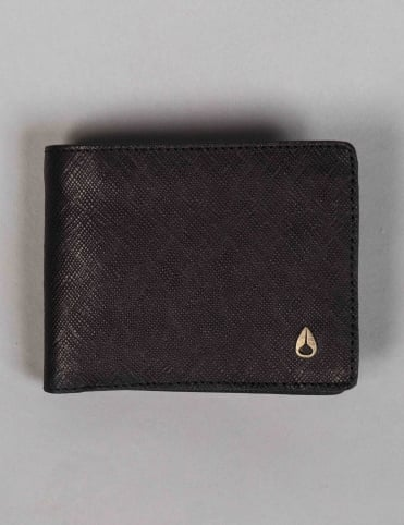 Arc SE Bi-Fold Wallet - Black/Gold