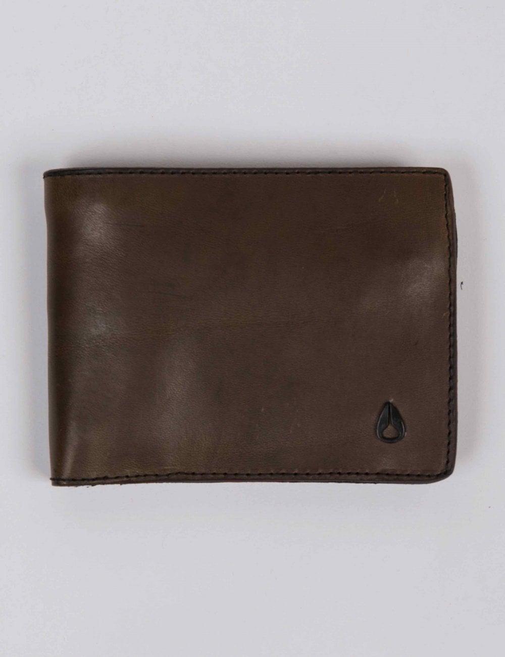 01be745fa19 Nixon Arc SE Bi-Fold Wallet - Dark Olive - Wallets from Fat Buddha ...
