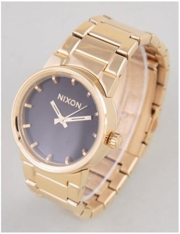 Nixon Cannon Watch - All Gold/Black
