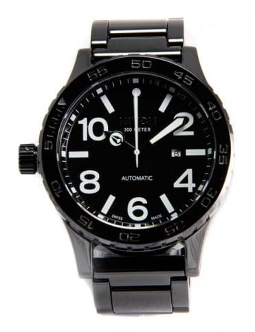Nixon Ceramic 51-30 Elite Class Watch - Black