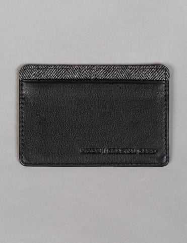 Coastal Card Wallet - Black