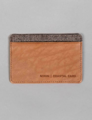 Coastal Card Wallet - Tan