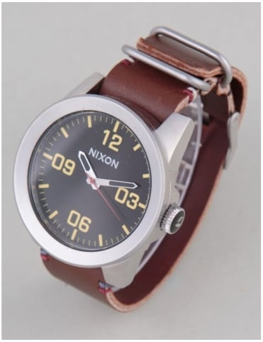 Corporal Watch - Black/Brown