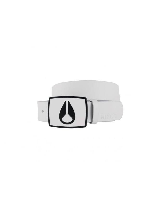 Nixon Enamel Icon Women's belt - White