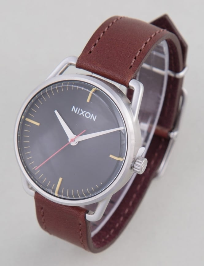 Nixon Mellor Watch - Black/Brown
