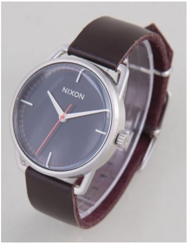 Nixon Mellor Watch - Navy/Brown