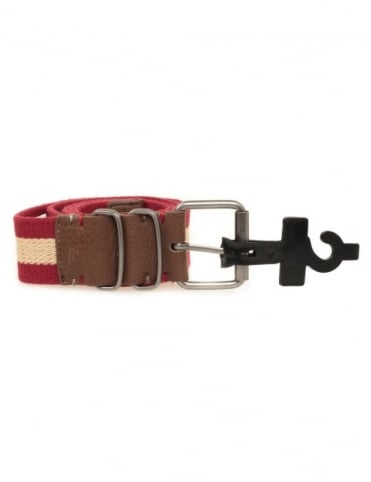 Morris Belt - Dark Red