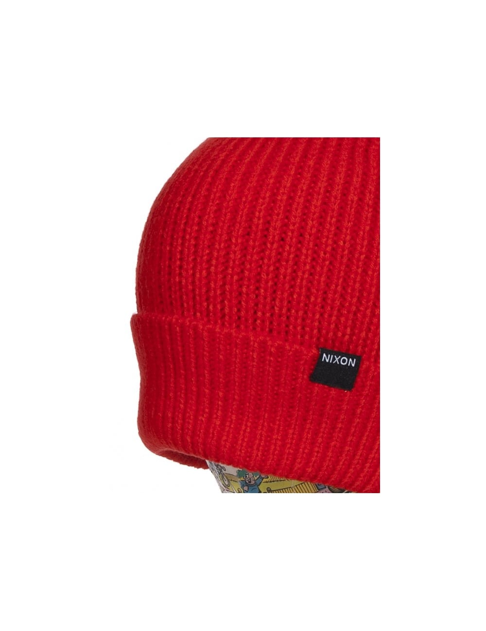 652647a472b07 Nixon Regain Beanie - Red Pepper - Accessories from Fat Buddha Store UK