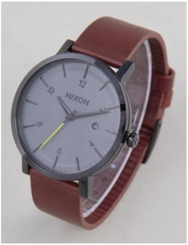 Nixon Rollo Watch - Black/Charcoal