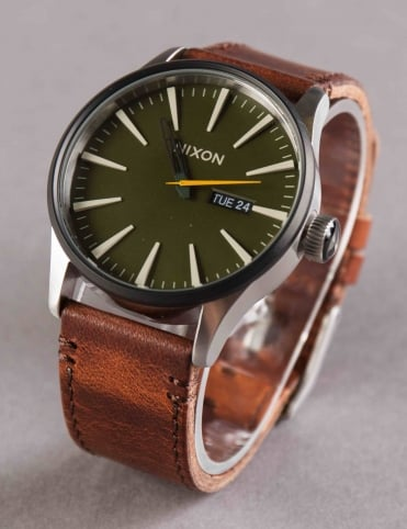 Sentry Leather Watch - Surplus/Brown